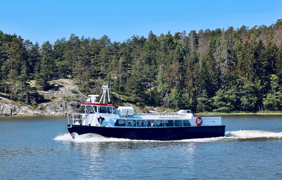 Boat tour in Trosa