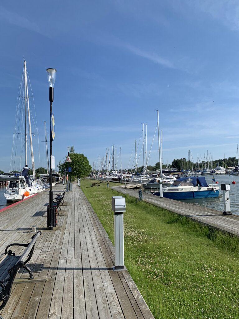 Trosa hamnpir och gästhamn