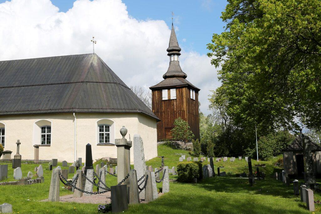 Trosa town church