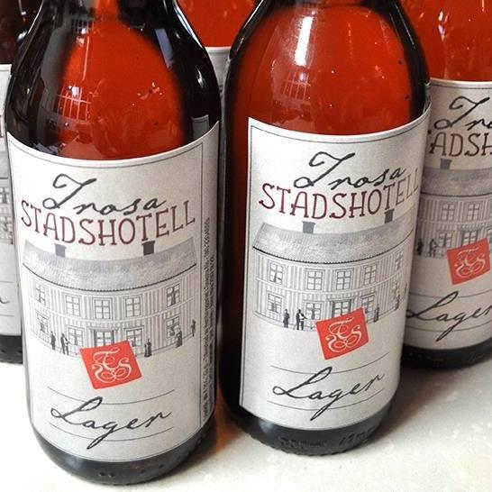 Ölflaskor Trosa stadshotell